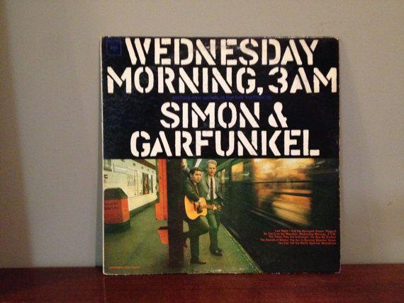 Simon and Garfunkel Wednesday Morning 3AM by TurnAroundRecords, $6.00