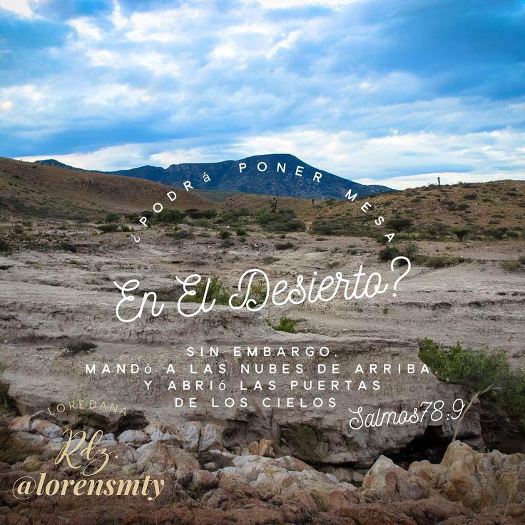 Dios pone Mesa en el desierto
