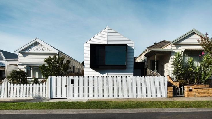 Datum House, in Ascot Vale, blends into a row of Victorians in a way that makes it almost missable.
