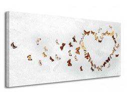 Butterfly Heart - Obraz na płótnie