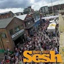 The Humber Street Sesh is an annual free music festival which showcases local talent.