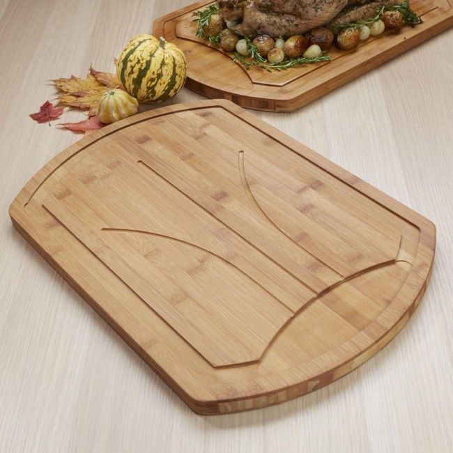 KSP Harvest Bamboo Carving Board (Natural)