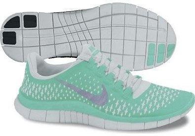 Amazon.com: Nike Lady Free 3.0 V4 Running Shoes - 9 - Green: Shoes on Wanelo