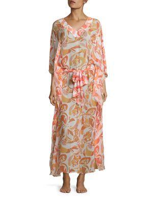 HEIDI KLEIN Cayman Islands Embellished Silk Kaftan. #heidiklein #cloth #kaftan