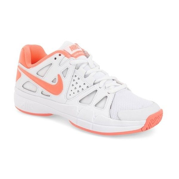 Nike 'Air Vapor Advantage' Tennis Shoe ($90) ❤ liked on Polyvore featuring shoes, athletic shoes, nike, tenny shoes, rubber sole shoes, nike footwear and nike shoes