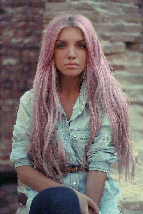 Pastel Hair .