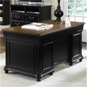 Liberty Furniture Home Office Jr Executive Desk Base