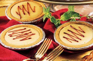 Ocean Spray Cranberry Cheesecake Tartlets