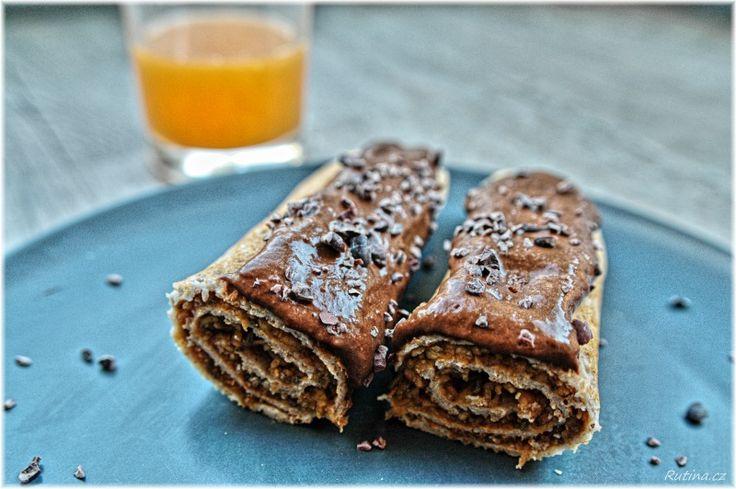 Rutina - Pohankové palačinky s čokoládovou polevou