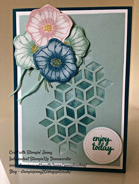 Weekend Blog Stampin' Up! Oh So Eclectic and Subtles inks