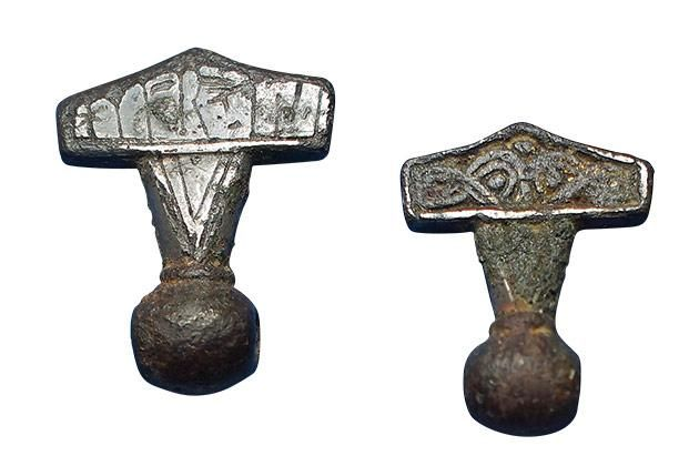Viking age / Thors hammer/ Danish
