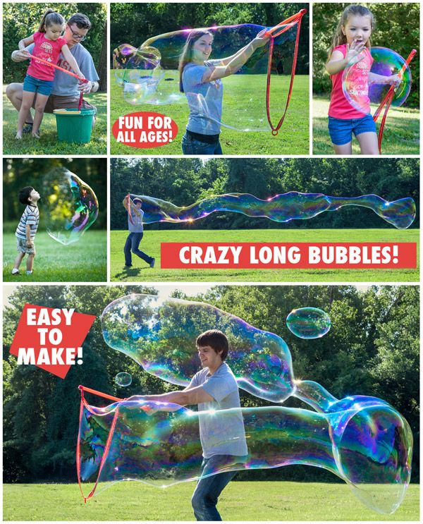 Bubble Thing Giant Bubble Maker  Create bubbles up to 35 feet long!