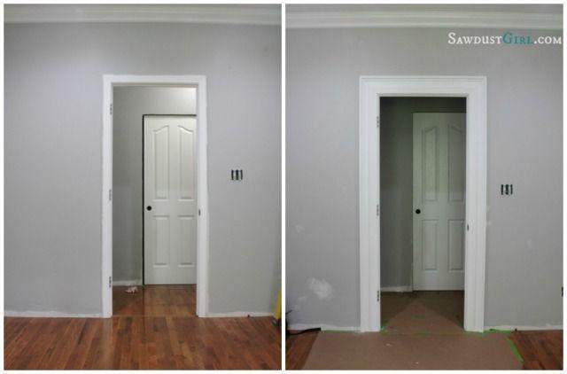 Layered door and window trim molding