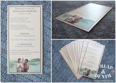 Free Printable Baptism Program Template