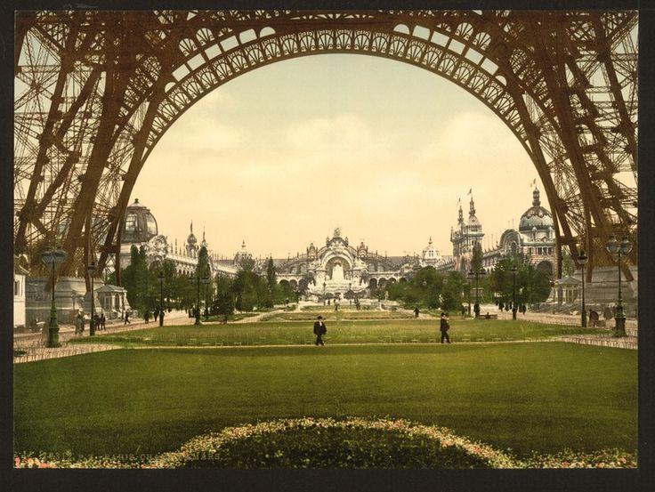 Champs de Mars, Exposition Universal, 1900. Paris, France