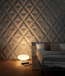 3D behang slaapkamer