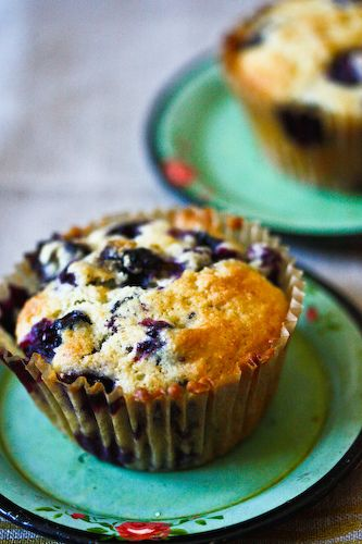 blueberry cornmeal muffins | Delicious.... | Pinterest