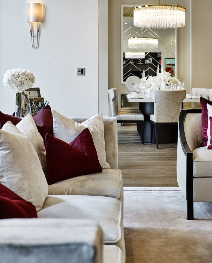 Luxury Interior Design of Townhouse Apartment in