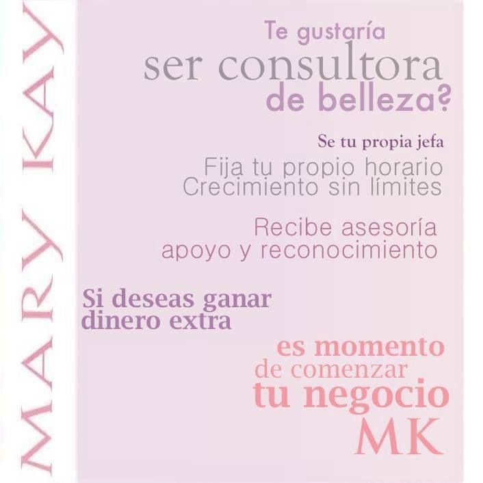 Tu negocio Mary Kay Se anfitriona de una Sesión de Belleza Mary Kay, obtendrás grandes beneficios. contáctame ,gana un increíble cambio de look ,compra o vende los productos !!! maktub.therapy@gmail.com ,la paz,bcs.
