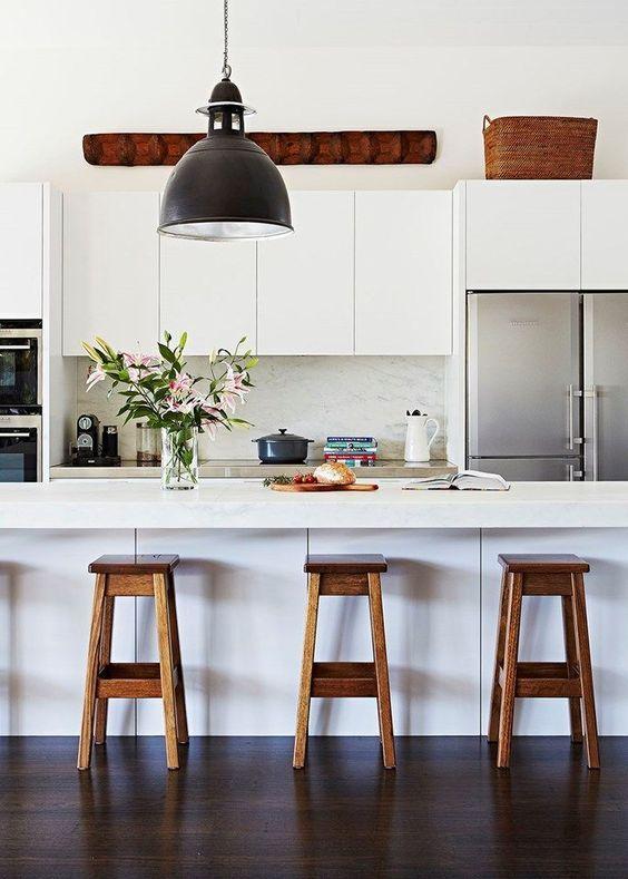 come arredare una cucina moderna bianca | cucina nel 2019 | Cucina ...