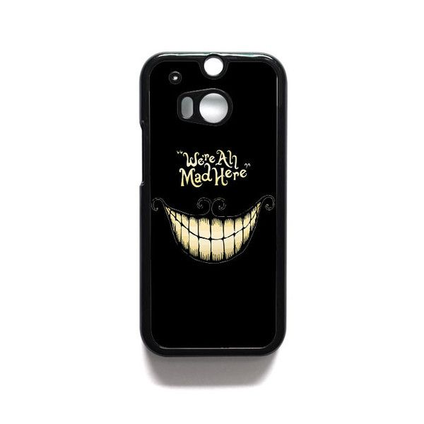 Alice In The Wonderland case HTC One M7 M8 iPod Touch 4 5 Case Cover