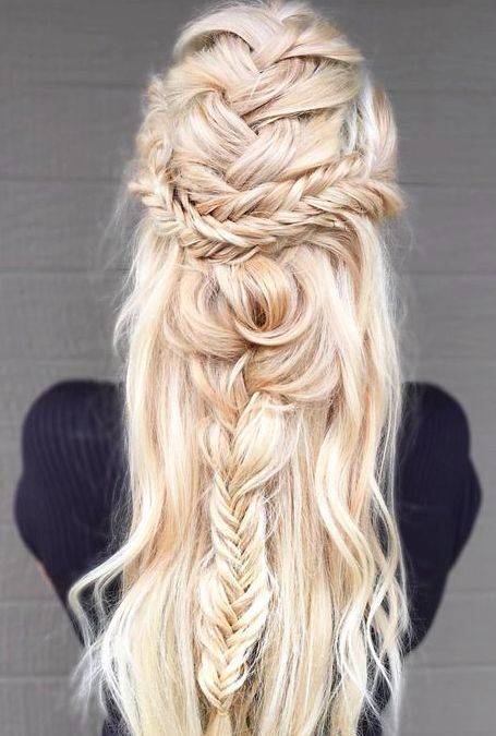 Tremendous 1000 Ideas About Blonde Hairstyles On Pinterest Straight Hair Hairstyles For Women Draintrainus
