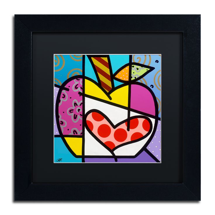Roberto Rafael 'Big Apple Iii' Matted Framed Art