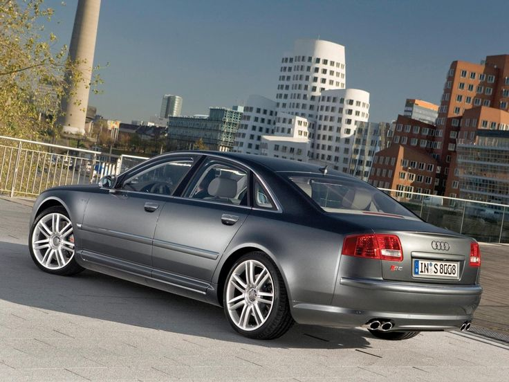 2008 Audi S8 5.2L V10 Quattro. The last naturally aspirated luxo barge Audi produced, truly a rare beast with very few sedans using a V10 engine coupled with AWD. It had limited competition, those being the Jaguar XJR, BMW 750li/760li, and Mercedes S63/S65 amg.