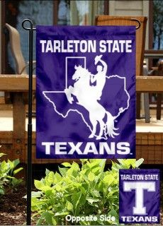 I think that my garden NEEDS one of these!!! Tarleton State University Garden Flag