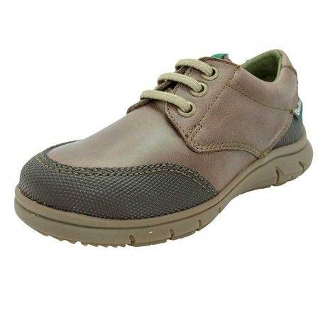 Zapatos grises casual infantiles Kx9I02ymVq