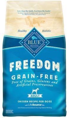 Blue Buffalo Freedom Grain-Free Chicken Dry Dog Food 4 lbs