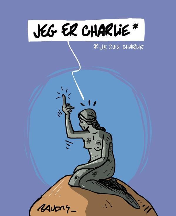 Source et prolongements ici... #copenhague #jesuischarlie