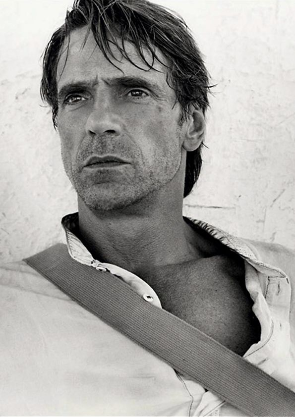 "Jeremy Irons by Andre Rau. -  ahhh now where would we be with out Jeremy Irons! that unmistakable voice which always sounded like words of wisdom no matter what he was saying! and extraordinarily handsome! ""I'm single Jeremy!!!"" .....lmao.....@Wendy Armitage"