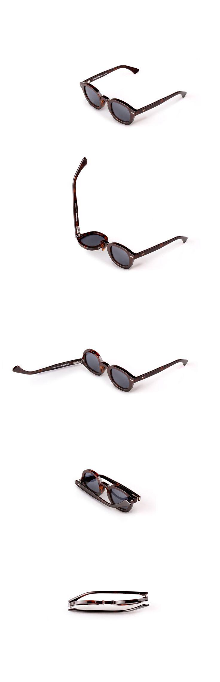 Movitra 115 - Havana scuro con lente blu #sunglasses #movitra #movitraspectacles #spectacles #glasses #eyewear