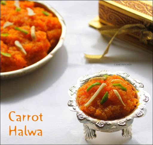 CARROT HALWA RECIPE