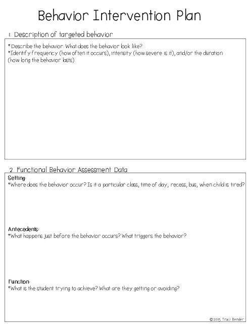 Best 25+ Behavior plans ideas on Pinterest   Behavior management ...