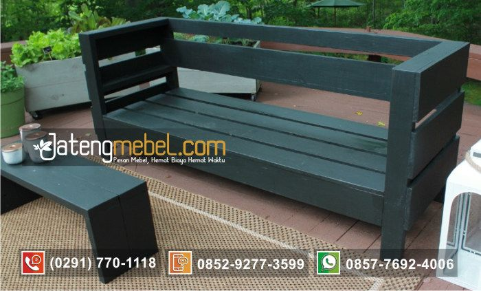 Toko Furniture Terpercaya Jual Kursi Taman Minimalis Simpel - Jateng Mebel