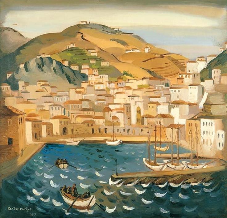 Asteriadis Aginor [1898-1977] Αστεριάδης Αγήνωρ-Ύδρα, 1937 Αστεριάδης Αγήνωρ-Ύδρα, 1937