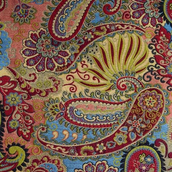 Gorgeous multicolored paisley