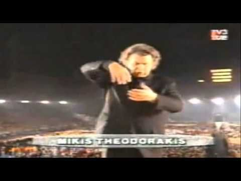 Mikis Theodorakis, Agnes Baltsa - Barcelona 1992 Olympics Opening Ceremony