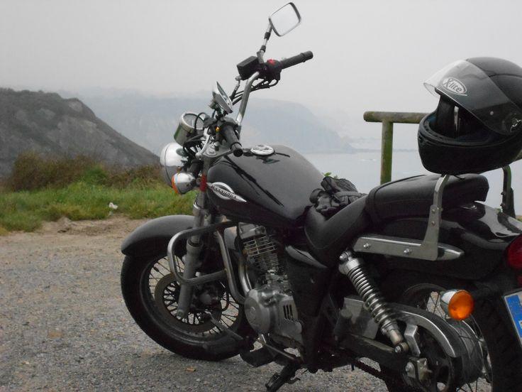 Cabo Vidio. #asturias #asturies #moto #suzuki #marauder