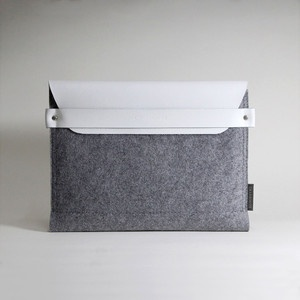 Leather iPad Sleeve White now featured on Fab.