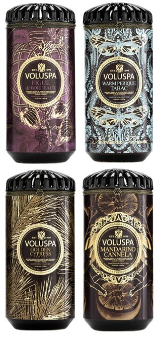 Voluspa exclusive candel *** To burn a Voluspa candle is to be introduced to a world of excellence in fragrance and candle light that delights the senses and adds luxe to everyday living. *** www.voluspa.com