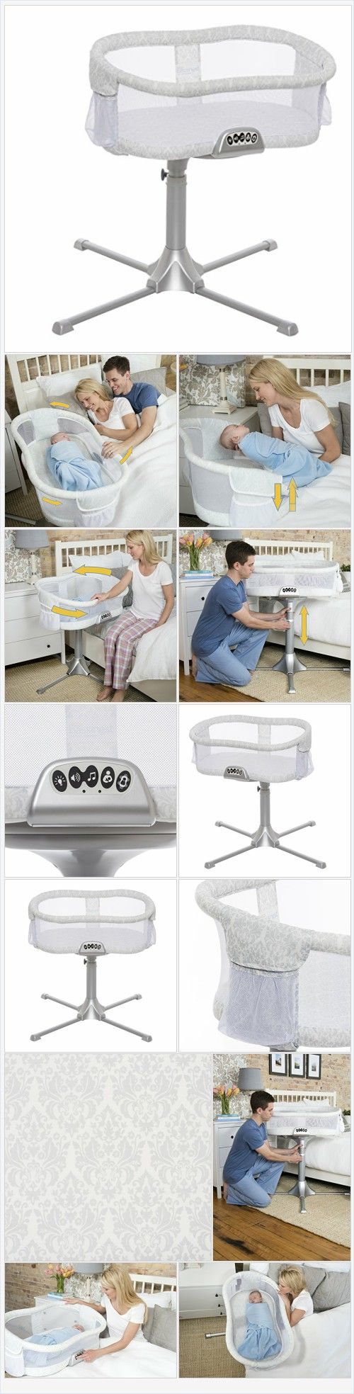 HALO Bassinest Swivel Sleeper Bassinet, Premiere Series - Every Thing Baby