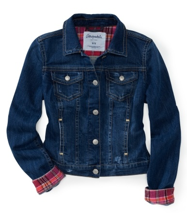 Denim Jacket.... Love! From Aeropostale!