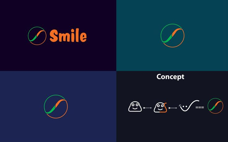 4th Logo Concept for Smile Mini Marts. #logo #creative #best #simple #awesome #project #shop #store #inspirations #minimal #design #smile