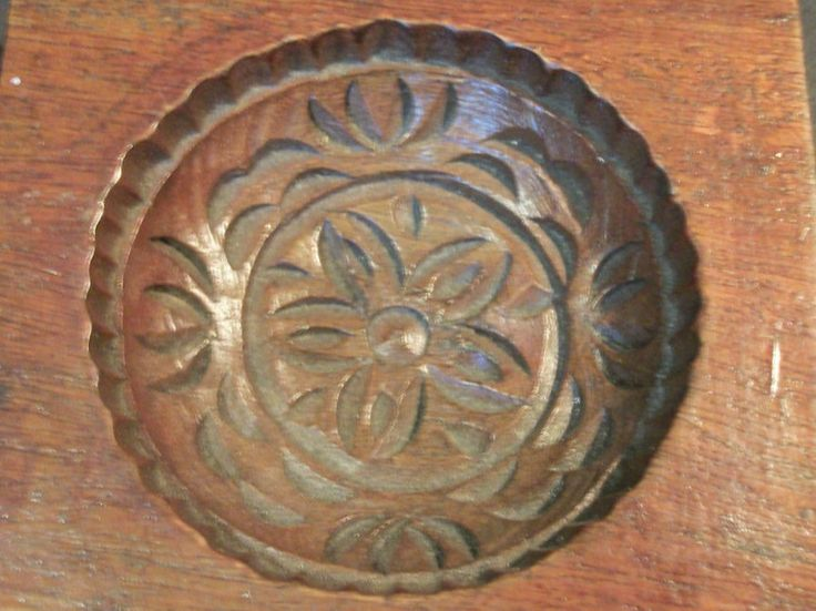Antique Chinese Mooncake Mold by AntiquesByZaar on Etsy