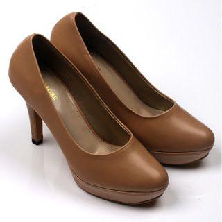 Jual sepatu wanita murah dan berkualitas: CLAYMORE High Heels MZ - 1268 Moca