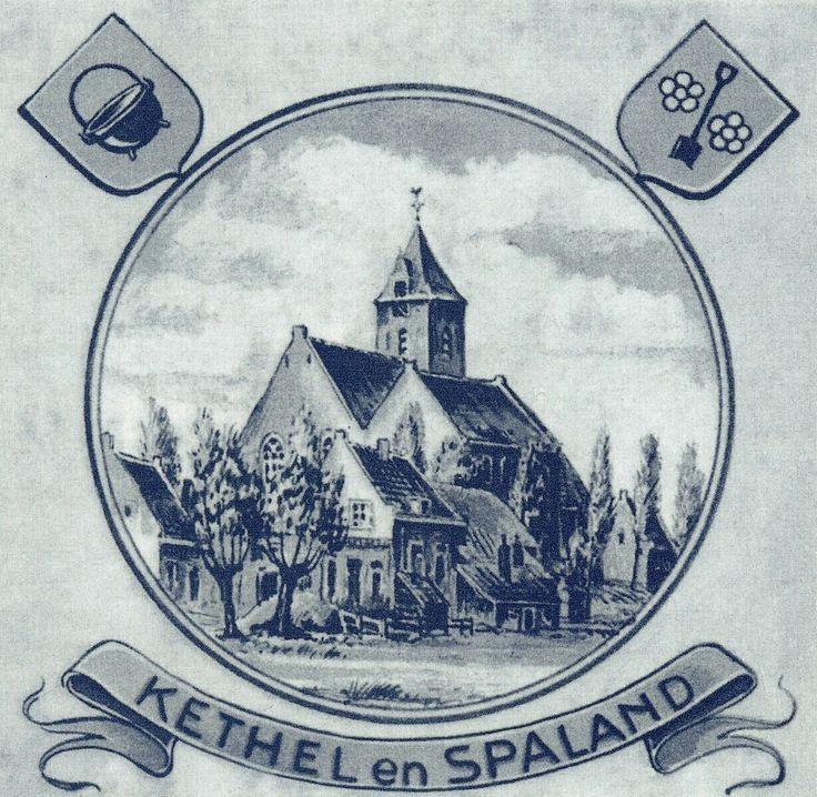 Jaap de Raat: In en om de dorpskerk van Kethel