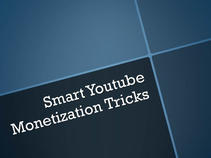 Youtube monetization tricks